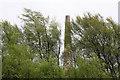 NY8461 : Stublick chimney by Helen Wilkinson