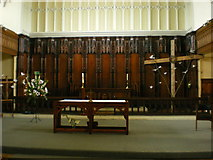 SJ9398 : St Peter's Church, Ashton-Under-Lyne, Altar by Alexander P Kapp