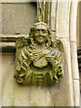 SJ9398 : St Peter's Church, Ashton-Under-Lyne, Detail by Alexander P Kapp