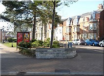 SZ1191 : Bournemouth : Boscombe - The Crescent by Lewis Clarke