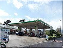 SZ0995 : Bournemouth : BP Petrol Station & Somerfield Shop by Lewis Clarke