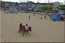 TG5307 : Great Yarmouth Beach by Stephen McKay