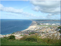 SY6774 : Chesil Beach by Stacey Harris