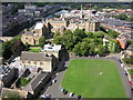 NZ2742 : The Cathedral Green and Castle, Durham by Kenneth Yarham