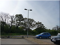 SZ1394 : Bournemouth : Iford Golf Centre - Car Park by Lewis Clarke
