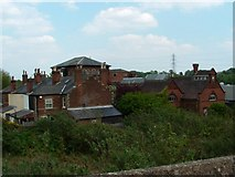 TG2407 : Old pumping station and ancillary building by Paul Shreeve