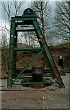 SK3455 : Glory Mine Headstocks, Wakebridge, Crich Tramway Village by P L Chadwick