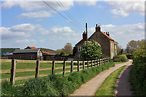 SE7466 : High Farm Cottages, Firby by Peter Church