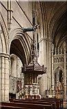 TQ2479 : St John the Baptist Church, Holland Road, London W14 - Pulpit by John Salmon