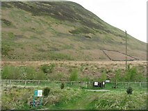 NT1511 : Peat Hill side at Carrifran by M J Richardson