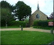 SU1012 : St James Alderholt by Chris Gunns