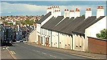 J4569 : Cottages, Comber (2009) by Albert Bridge