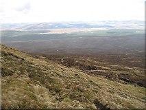 NN4548 : Northern slopes of Meall Cruinn by Richard Webb
