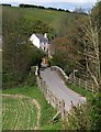 SX7248 : Loddiswell Mill Bridge by Derek Harper