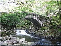 SH6229 : Pont Cwm yr Afon by Tony Edwards
