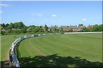 SO9095 : Cricket field at Penn, Wolverhampton by Roger  Kidd