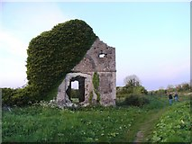 O0031 : Derelict Building on the Grand Canal at Stacumney by JP