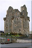 HU4039 : Scalloway Castle by Andrew Wood