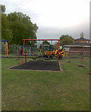 SK4833 : Construction work in West Park by David Lally