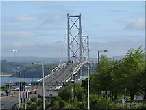 NT1278 : Forth Road Bridge by G Laird