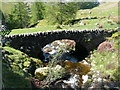 NN8831 : Wade bridge over Lurg Burn by Russel Wills