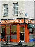TQ3385 : Corner Cafe, Stoke Newington by Stephen McKay