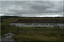 NN1880 : Cattle shelter in the Great Glen by David Long
