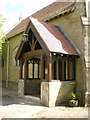 SD5273 : St Mary's Church Borwick, Porch by Alexander P Kapp