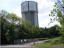 TL3160 : Cambourne Water Tower by Adrian Cable