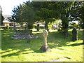 SD5376 : Church of St James, Burton, Graveyard by Alexander P Kapp