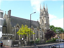 TQ2375 : Putney Methodist Church by Peter Trimming