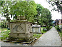 TQ2375 : Putney Old Burial Ground by Peter Trimming
