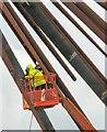 SJ8798 : Dismantling a Landmark by Gerald England