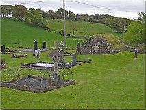 H1912 : Churchyard, Drumreilly Church of Ireland by Oliver Dixon