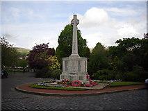 NS7177 : War Memorial in Kilsyth by Stevie Spiers