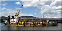 J3576 : 'W.D. Medway II' at Belfast by Rossographer