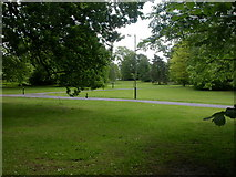 SJ8587 : Cheadle, Brookfield Park by Mike Faherty