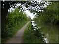 ST8860 : Kennet and Avon canal and cycle path near Semington by Rob Purvis