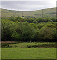 SN6309 : Pylon march to Pentwyn Mawr by John Duckfield
