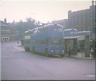 SP0198 : Trolleybuses in Walsall Bus Station by David Hillas