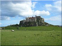 NU1341 : Lindisfarne Castle by brian clark