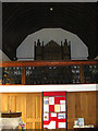 TM3569 : The Organ & Font of St.Michael's Church,Peasenhall by Geographer