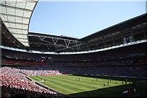 TQ1985 : Wembley Stadium by Richard Croft