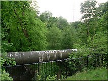 NS5160 : Pipeline over Levern Water by Stephen Sweeney