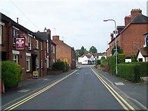 SK0418 : Church Street, Rugeley by Geoff Pick