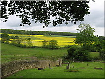 SK3875 : Old Whittington - view to Grasscroft Wood by Dave Bevis