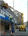 NT2472 : Scotmid Co-op facelift, Leven Street by kim traynor