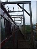 TG2407 : Trowse Swingbridge by Ashley Dace