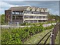 ST4838 : The old Moorlands factory, Glastonbury by Ken Grainger