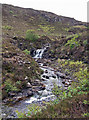 NG5136 : Lower waterfall on Ollach River by Richard Dorrell